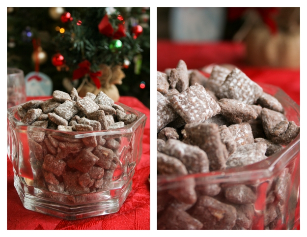 Muddy Buddies Diptych