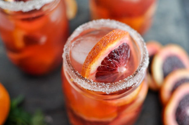 Blood Orange Sangria
