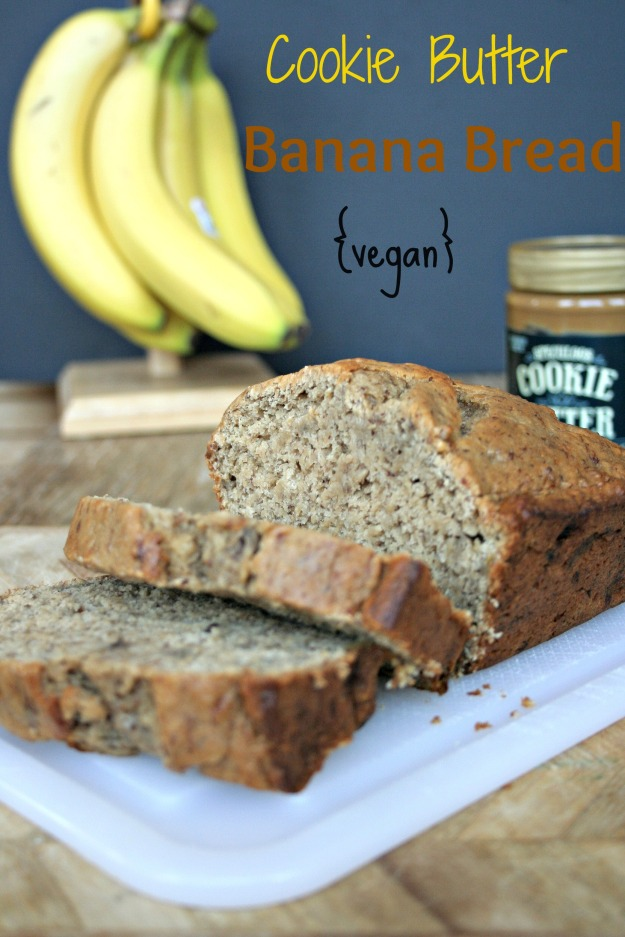 Cookie Butter Banana Bread 2 // http:///herbivoretriathlete.wordpress.com