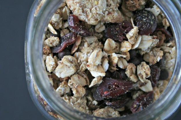 Maple Sunbutter Granola