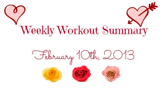 Valentine's Day Weekly Workout