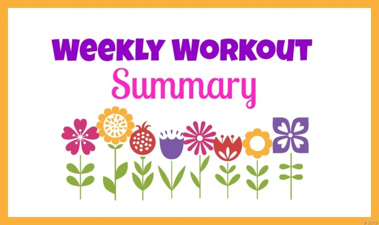 spring weekly workout