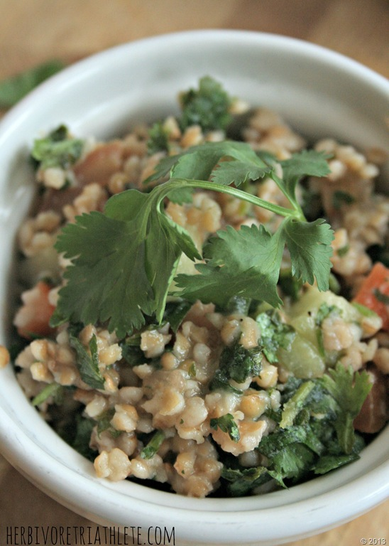 Tabbouleh // Herbivore Triathlete