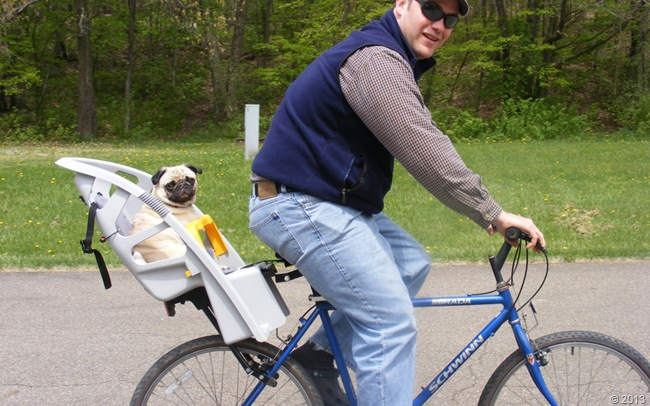 Esther in Bike Seat // Herbivore Triathlete